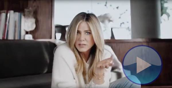 Jennifer Aniston promoting Xiidra for dry eyes