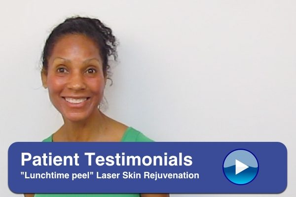 Lunchtime peel laser skin image