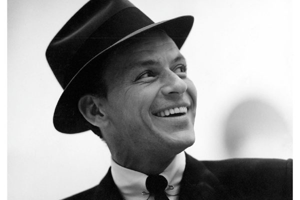 Picture of Frank Sinatra smiling