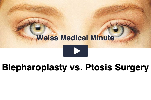 Blepharoplasty vs. Ptosis Surgery