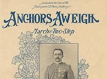 Image of Anchors Aweigh songbook cover