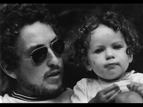 Bob Dylan and son