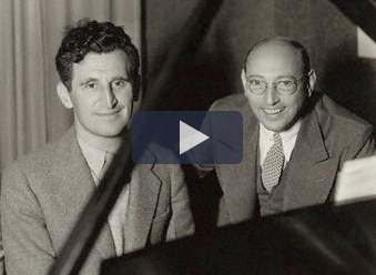 The composers, Harry Ruby and Bert Kalmar