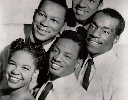 The original members of singing group The Platters.