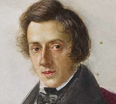 A portrait of Frederic Chopin