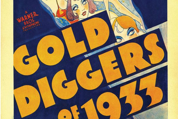 """Poster of the Warner Bros. film """"Gold Diggers of 1933"""""""