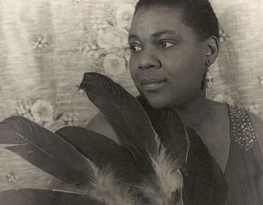 "Bessie Smith, original singer of ""Nobody Knows You When You're Down and Out"""