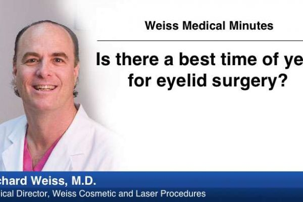 Is there a best time of year for eyelid surgery?