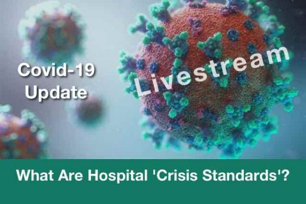 What are hospital crisis standards?